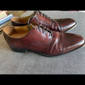 Cole Haan leather oxford shoes